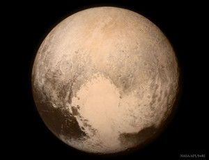Picture of Pluto taken by New Horizons